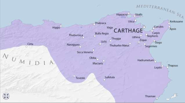Carthage's North African Territories