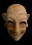 A Punic funerary mask