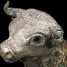 Canaanite Bronze and Silver Bull, 8th Century BC