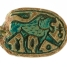Canaanite Scarab with a Roaring Lion 1600 BC