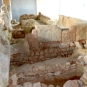 Catacombs at the Punic Wall Museum, Cartagena, Spain