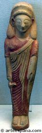 Statuette of Phoenician woman